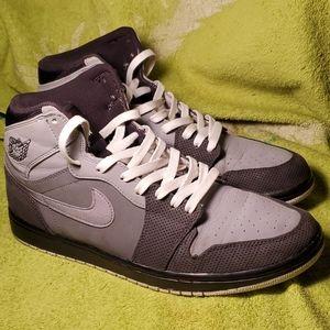 Triple grey Air Jordan 1 sz10.5